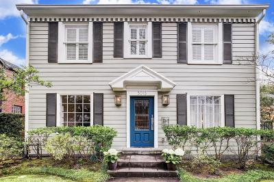 West University Place Single Family Home For Sale: 3013 Wroxton Road