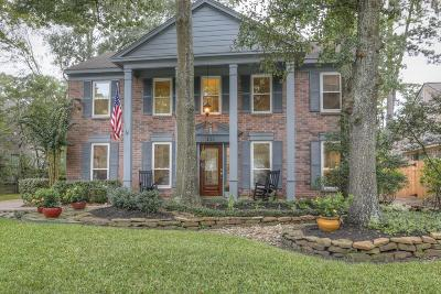 The Woodlands Single Family Home For Sale: 111 S Village Knoll Circle