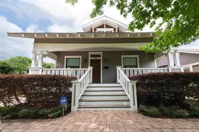 Houston Single Family Home For Sale: 740 Allston Street