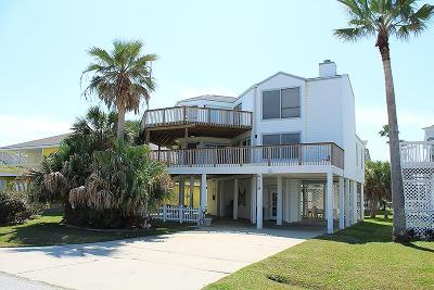 Pirates Beach Single Family Home For Sale: 4119 Campeche Ct