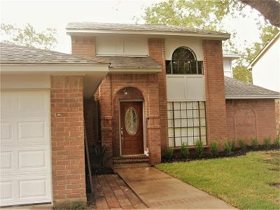 Houston Single Family Home For Sale: 7403 Woodland West Drive