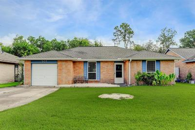 Friendswood Single Family Home For Sale: 507 Bellmar Lane