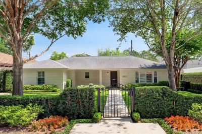 Houston Single Family Home For Sale: 4611 Ingersoll Street