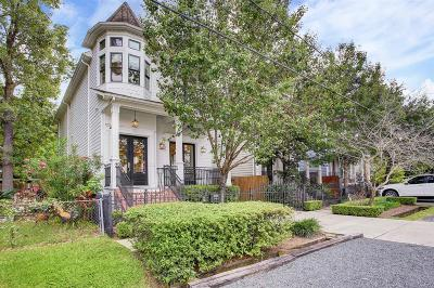 Houston Single Family Home For Sale: 1406 W 22nd Street #A