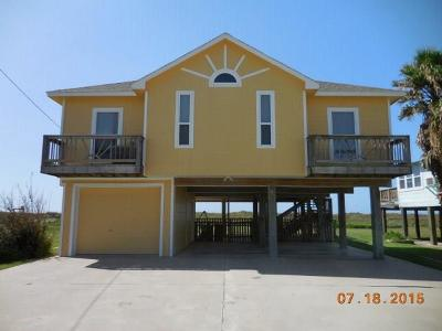 Matagorda Single Family Home For Sale: 166 Beachfront Drive