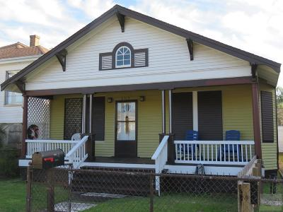 Galveston Single Family Home For Sale: 3515 Avenue P 1/2