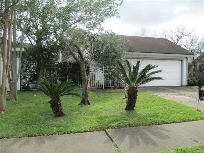 Houston Single Family Home For Sale: 11815 Fairpoint Drive