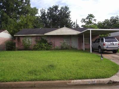 Houston Single Family Home For Sale: 3014 Brisbane Street