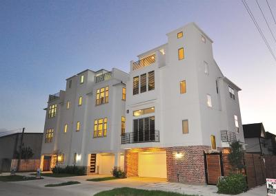 Houston TX Single Family Home For Sale: $485,000