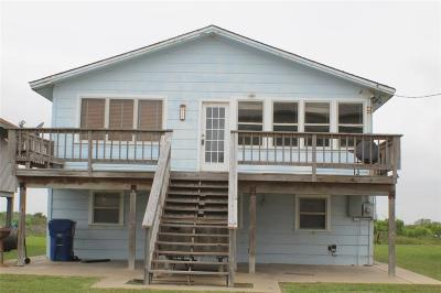 Matagorda Single Family Home For Sale: 453 Beachfront Drive Drive