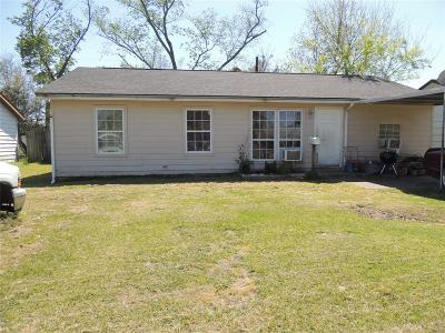 Galveston County, Harris County Single Family Home For Sale: 10622 Chambers Street