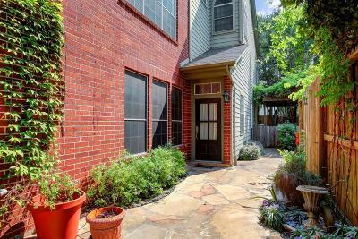 Houston Condo/Townhouse For Sale: 1219 Van Buren