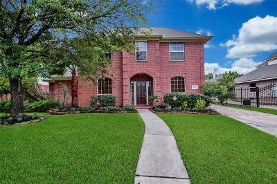 Houston Single Family Home For Sale: 9511 Stone Castle Drive