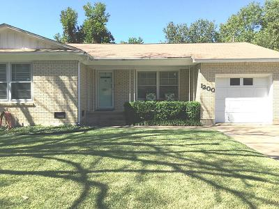 Waco Single Family Home For Sale: 1200 N 61st Street