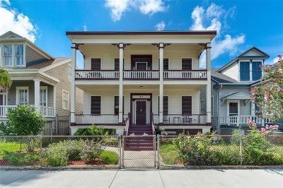 Galveston Multi Family Home For Sale: 1412 Post Office Street #OFC