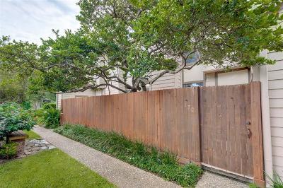 Houston Condo/Townhouse For Sale: 1201 McDuffie Street #170