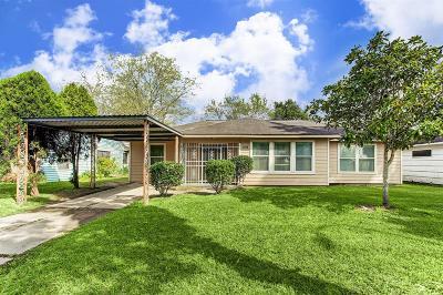 Houston TX Single Family Home For Sale: $149,750