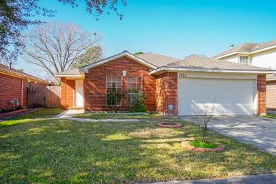 Houston Single Family Home For Sale: 7327 Gateridge Drive