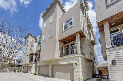 Houston Condo/Townhouse For Sale: 1325 W 24th Street #D