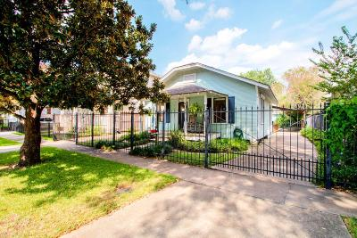 Houston Single Family Home For Sale: 640 Columbia Street