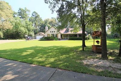 Conroe Single Family Home For Sale: 15311 Magnolia Drive