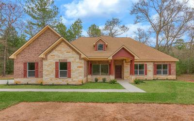 Grimes County Single Family Home Option Pending: 7599 Saddle Blanket Drive