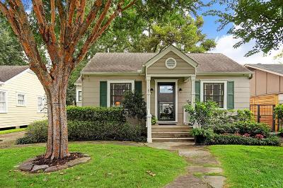 Houston Single Family Home For Sale: 2208 Cortlandt Street