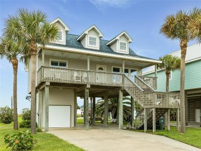Galveston Single Family Home For Sale: 4119 Mendocino Drive