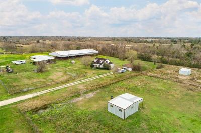 Alvin Single Family Home For Sale: 304 Hawkins Road