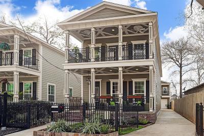 Houston Single Family Home For Sale: 805 Herkimer Street