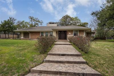 Houston Single Family Home For Sale: 3359 Charleston Street