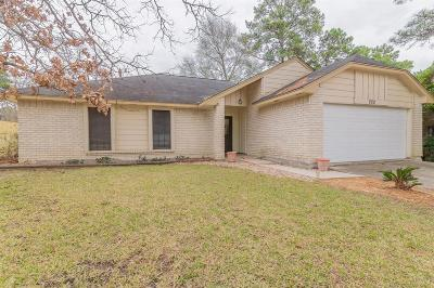Conroe TX Single Family Home For Sale: $169,000