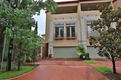 Houston Condo/Townhouse For Sale: 3200 W Lamar Street #1