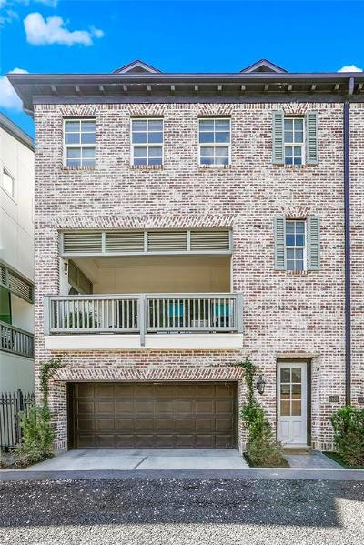 Houston Condo/Townhouse For Sale: 612 E 20th Street #B