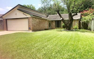 Katy Single Family Home For Sale: 2027 Goodwin Drive