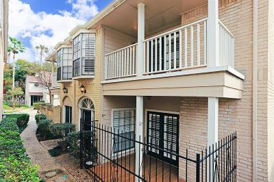 Houston Condo/Townhouse For Sale: 2220 Bering Drive #26