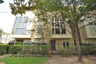 Houston Condo/Townhouse For Sale: 328 Asbury Ter