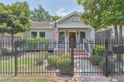 Houston Single Family Home For Sale: 1032 Peddie Street
