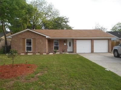 Texas City Single Family Home For Sale: 7509 Mockingbird Ln Lane