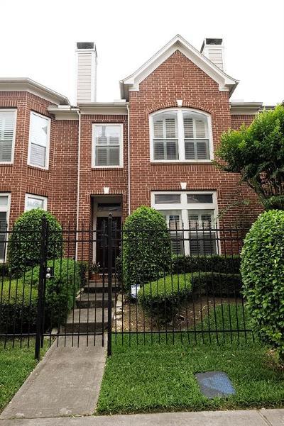 Houston TX Condo/Townhouse For Sale: $399,000