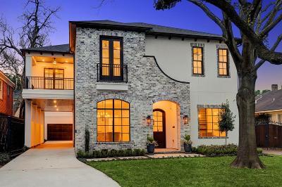 Houston TX Single Family Home For Sale: $1,599,000