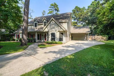 The Woodlands Single Family Home For Sale: 23 Cedarwing Lane
