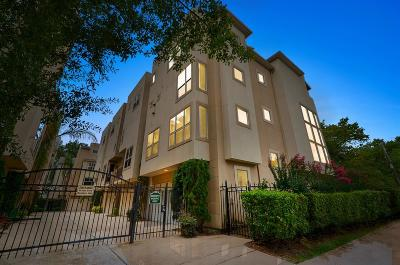 Houston Condo/Townhouse For Sale: 332 Asbury Terrace