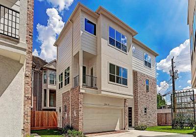 Houston Single Family Home For Sale: 2004 Rosedale Street #D