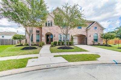 Pearland Single Family Home For Sale: 2111 Asbury Court