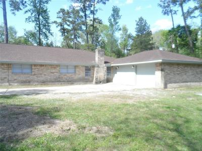 Conroe TX Single Family Home For Sale: $154,900