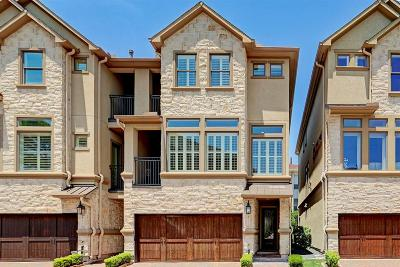 Houston TX Condo/Townhouse For Sale: $998,000