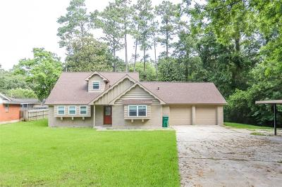 Conroe Single Family Home For Sale: 308 Wildwood Lane