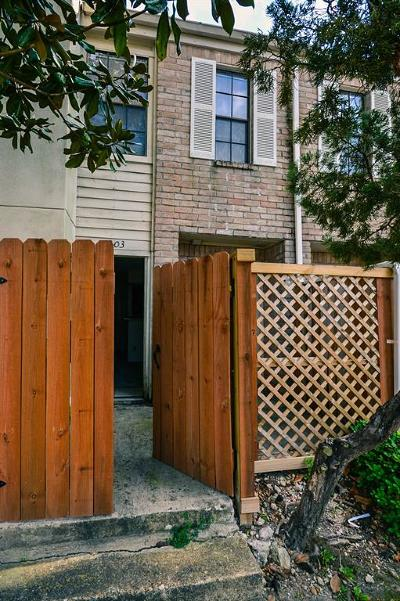 Houston TX Condo/Townhouse For Sale: $42,500