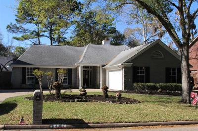 Kingwood Single Family Home For Sale: 4007 Hill Springs Drive